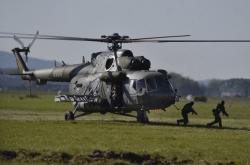 Součástí Dnů NATO jsou i ukázky pozemních operací.