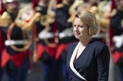 Zuzana Čaputová na návštěvě Francie