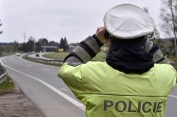 Policista na dálnici
