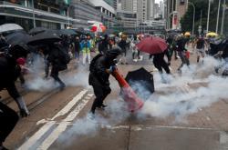 Do ulic Hongkongu s znovu vrátili demonstranti