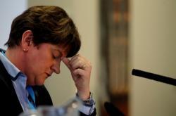 Předsedkyně DUP Arlene Fosterová