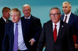 Boris Johnson a Jean-Claude Juncker