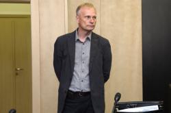 Jaroslav Hensl u soudu (18. 10. 2019)
