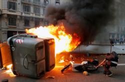 Protesty v Barceloně