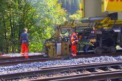 Oprava mezinárodní trati z Děčína do Německa