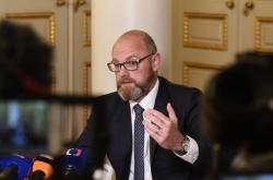 Ministr školství, mládeže a tělovýchovy Robert Plaga