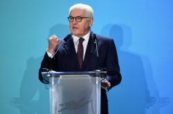 30 let od pádu Berlínské zdi. Německý prezident Frank-Walter Steinmeier má proslov na akci u Braniborské brány