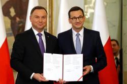Prezident Duda jmenuje Morawieckého premiérem