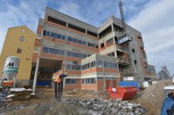 Dostavba chebské nemocnice