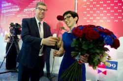 Nová předsedkyně TOP 09 Markéta Pekarová Adamová
