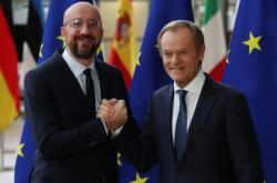 Charles Michel a Donald Tusk