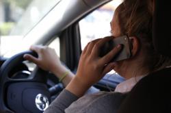 Telefonování za jízdy