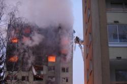 Exploze panelového domu v Prešově
