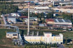 Průmyslová zóna nedaleko Stráže pod Ralskem