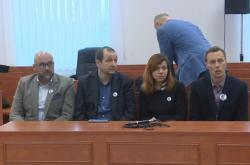 Kolegové Jána Kuciaka před soudem