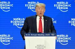 Projev Donalda Trumpa na 50. ročníku davoského fóra