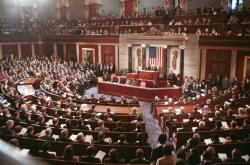 Havel v kongresu USA v roce 1990