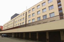Ubytovna pro pracovníky stavební firmy Metrostav v Praze