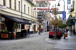 Stodolní ulice v centru Ostravy