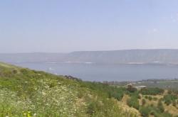 Naplněné Galilejské jezero
