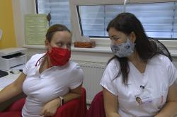 Zdravotní sestry mobilního hospice
