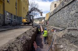 Rekonstrukce vodovodu v Janských Lázních