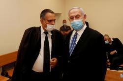 Benjamin Netanjahu před soudem