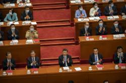 Si Ťin-Pching v čínském parlamentu