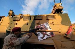 Voják Haftarovy armády