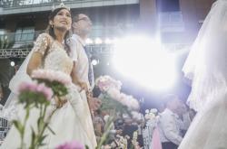Čínský svatební pár