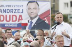Současný polský prezident Andrzej Duda