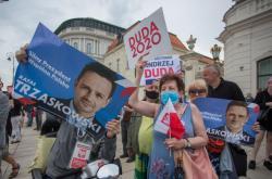 Předvolební kampaň v Polsku