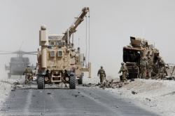 Útok na vozidlo spojenců v Afghánistánu