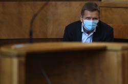 Martin Dvořák u Vrchního soudu v Praze