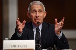Anthony Fauci na jednání v Senátu
