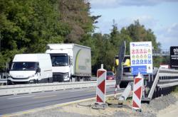 Dopravní omezení během modernizace D1