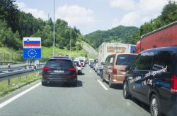 Kolona na slovinských hranicích - Ilustrační snímek