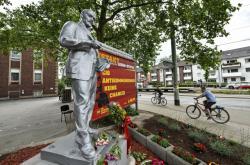Leninova socha v Gelsenkirchenu
