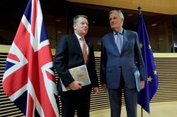 David Frost a Michel Barnier