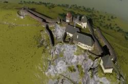 Vizualizace hradu Kalich