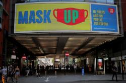 Výzva k nošení masek v centru Manchesteru