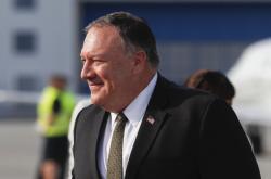 Americký ministr zahraničí Mike Pompeo přijel do Prahy