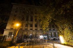 Zavřený berlínský technoklub Berghain