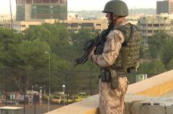 Český voják v Mali