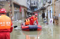 Povodně v Číně