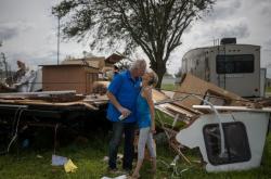 Následky hurikánu Laura