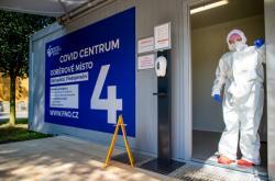 Testování na koronavirus v Ostravě