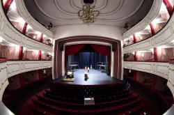 Interiér Moravského divadla v Olomouci