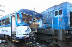 Srážka vlaků v Kdyni