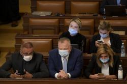Zrušená mimořádná schůze sněmovny